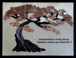 Tableau en mosaïque Danielle T - Copie