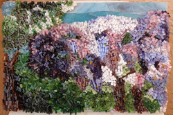 Tableau en mosaïque de Geneviève