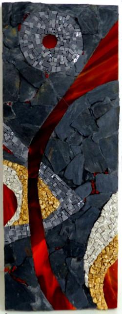 Tableau en mosaïque de Véronique