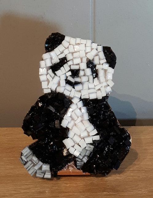 Mini panda en cuivre et mosaïque N2