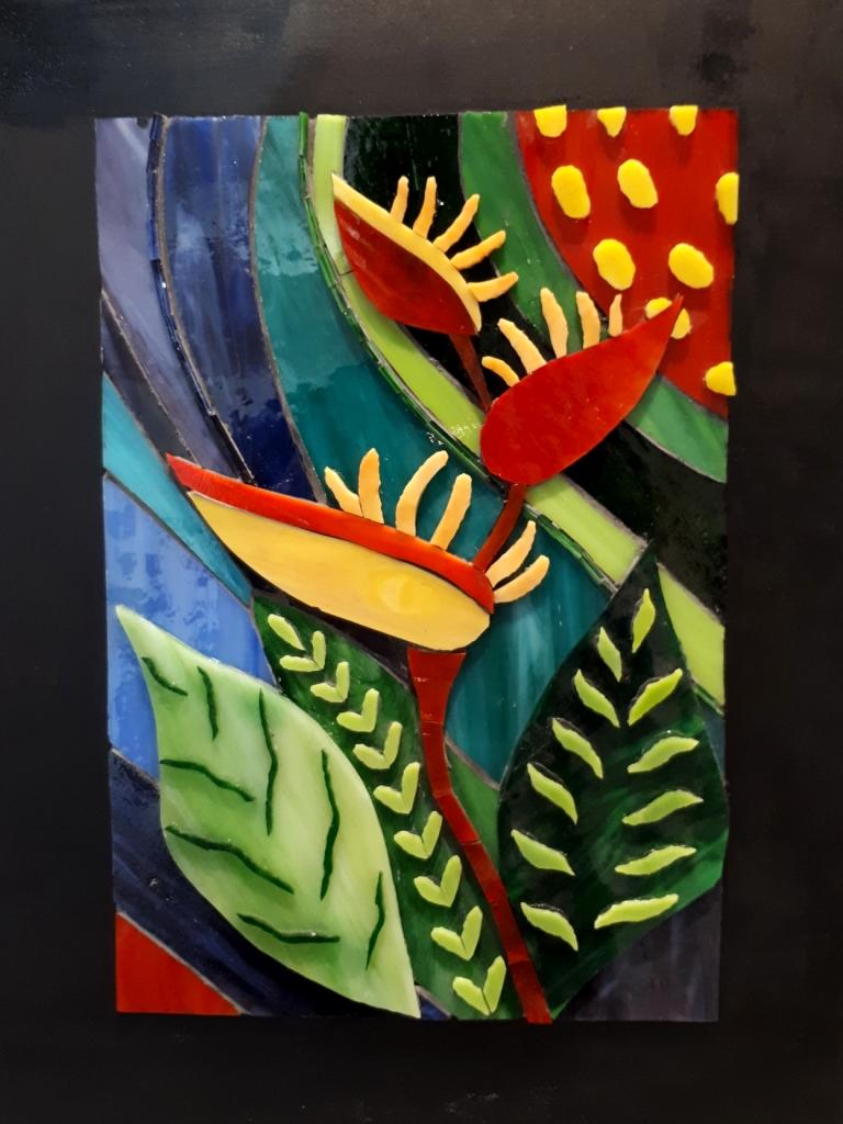 Tableau en mosaïque Irène