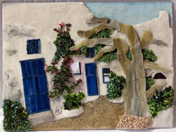 Tableau en mosaïque de Marie Claude