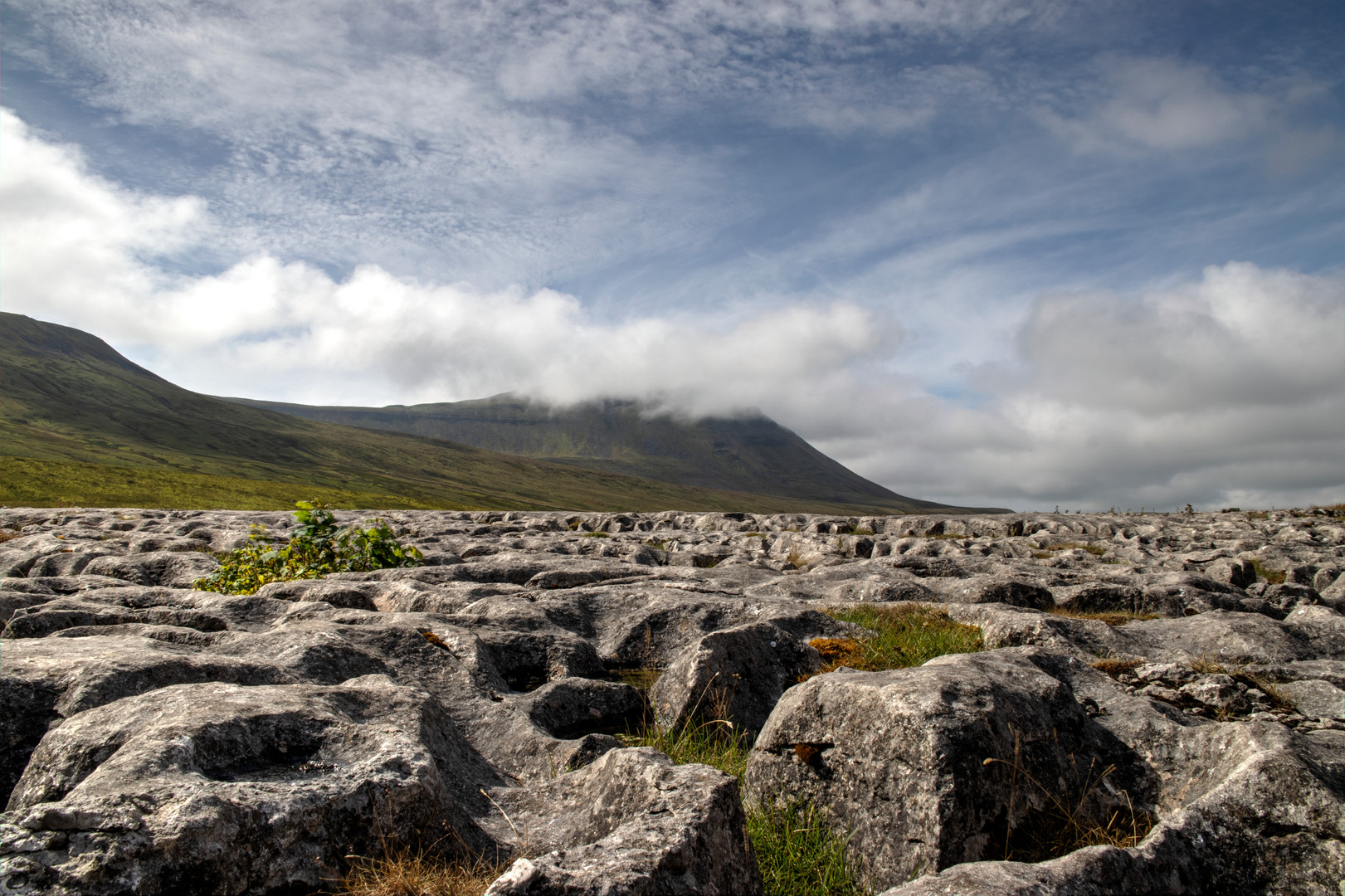 Head in the clouds Ingleborough
