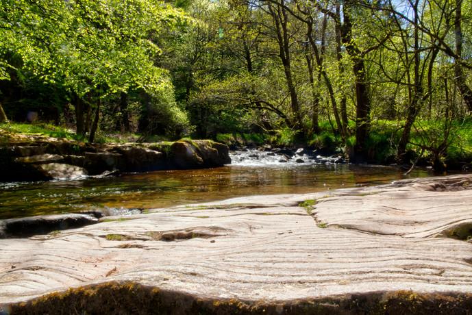 The River Taff & Rocks