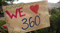 We love 360!