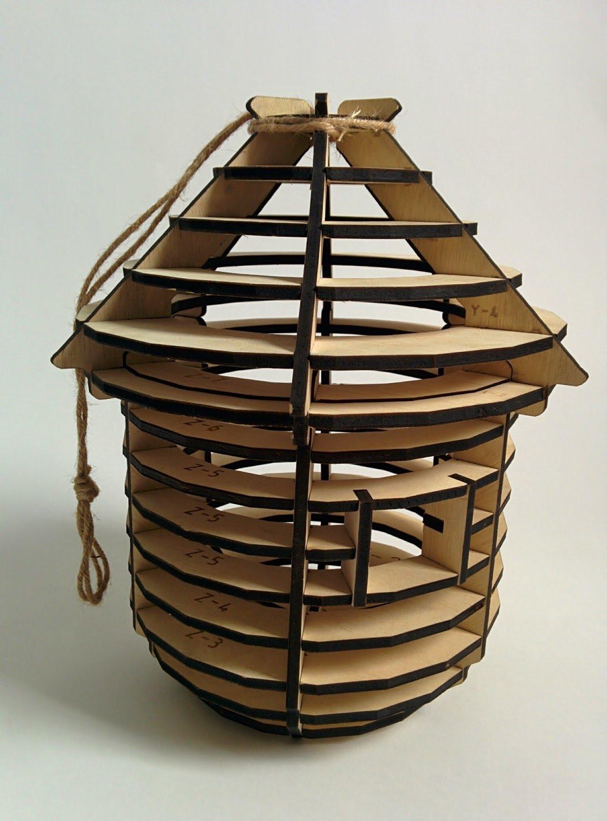 lasercut bhouse