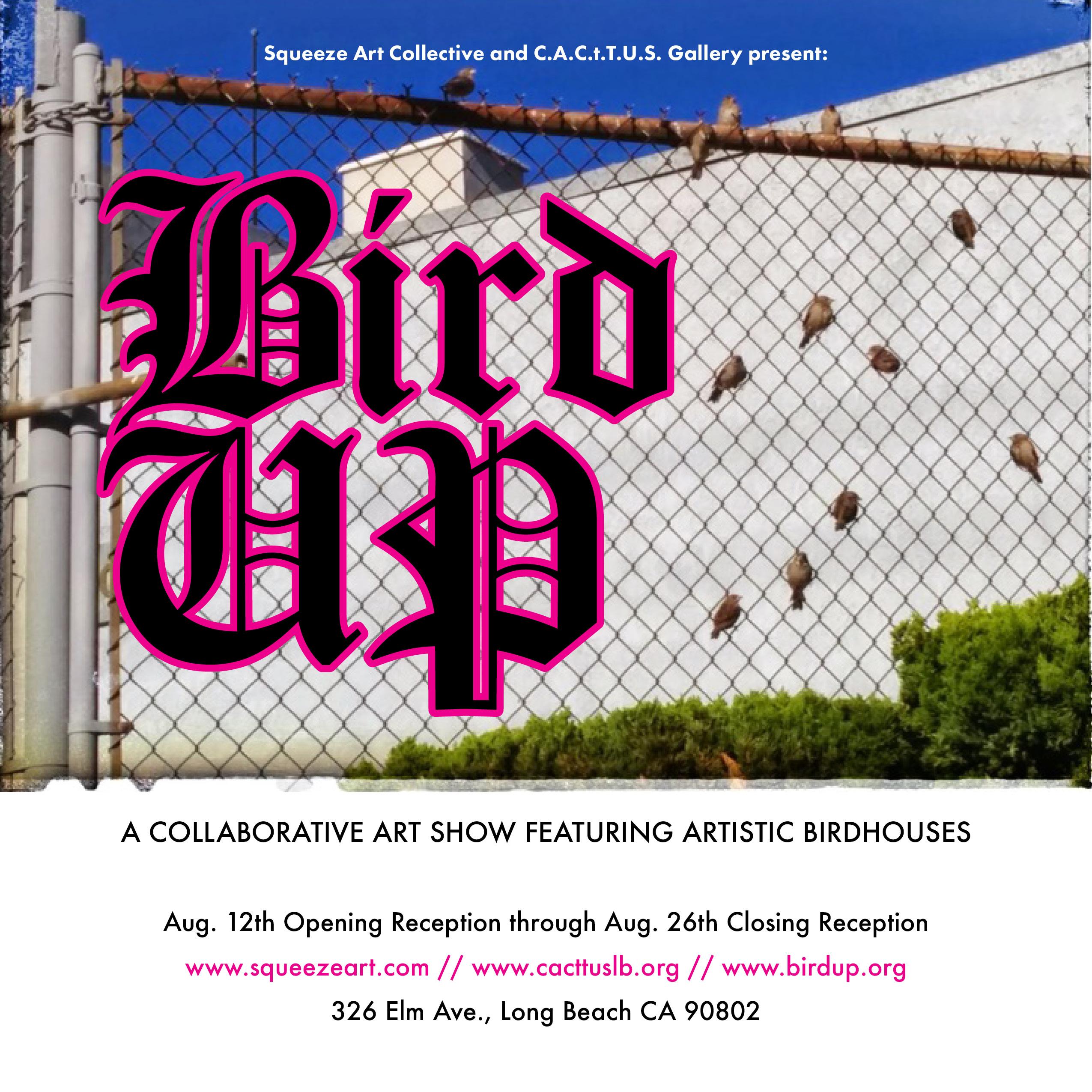 BirdUp Show Flyer