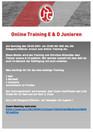 Online Training E & D Junioren