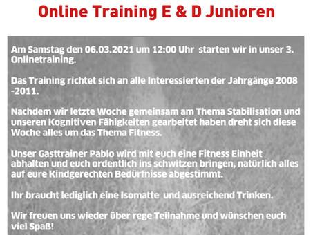 Online D & E Junioren