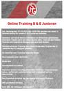 Online Training E & D Junioren Teil 2