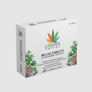 Cannaphytol Relax Tablets