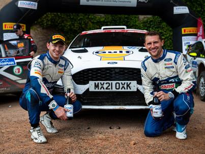 Wilson grabs Grampian Forest Rally glory
