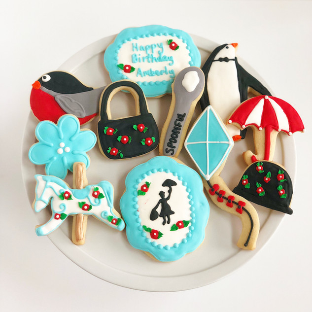 Mary Poppins Cookies
