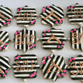 Custom Cookies for Style Me Pretty Boutique