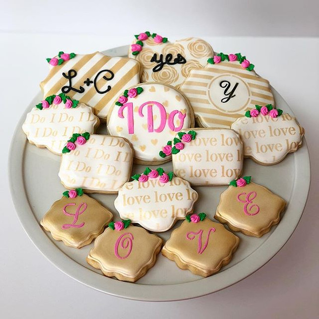 Wedding/ Engagement Cookies