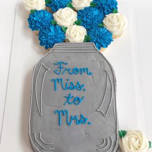 Mason Jar Cake