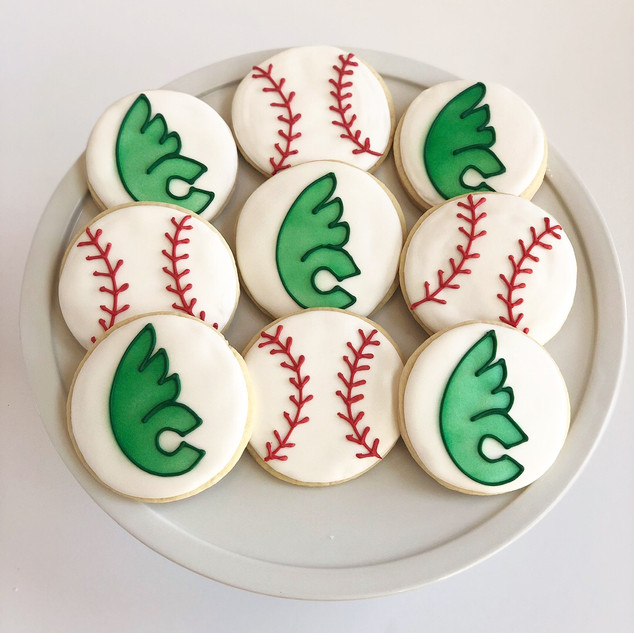 Wilmington College Baseball Cookies