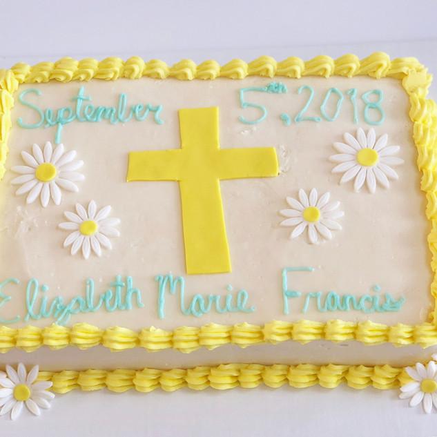 Confirmation Cake