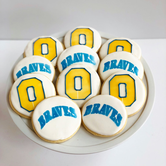 Olentangy Braves Cookies