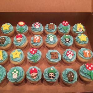 Mario Cupcakes