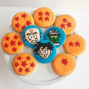 Dragon Ball Z Cookies