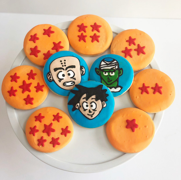 Dragon Ball Z Cookies