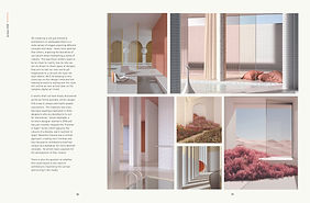 Graphic Design Magazine Page