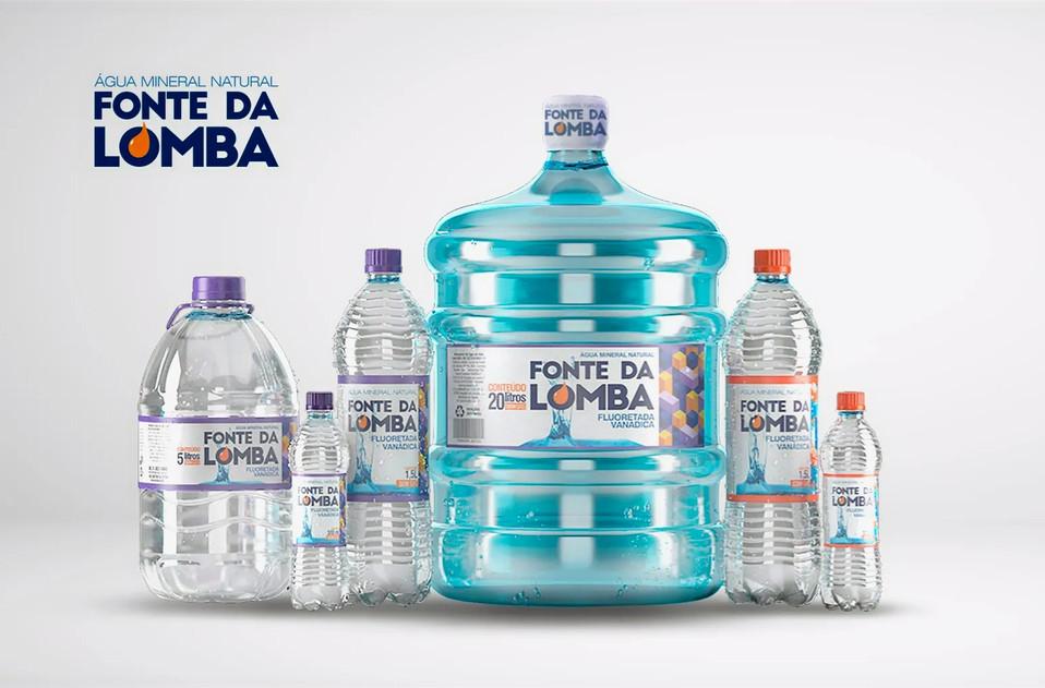 Família de produtos Fonte da Lomba