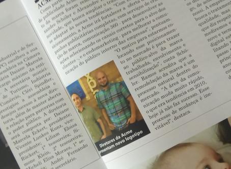 """Acme, direto ao ponto, na revista """"Expansão"""""""