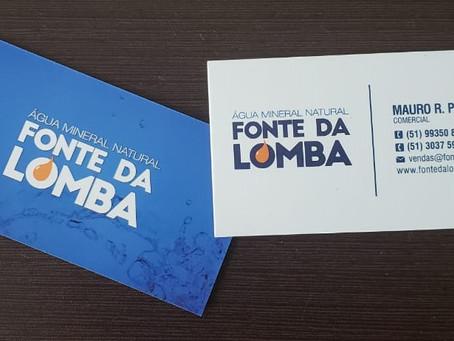 Novos cartões de visita Fonte da Lomba