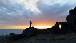 Trekking near the Ocean in Fuerteventura