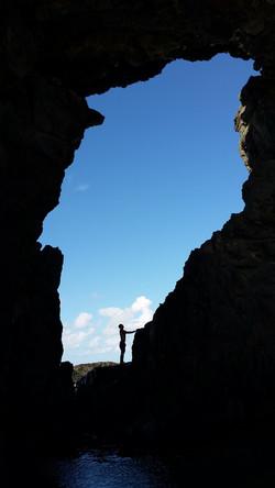 Trekking in Playa del jurado