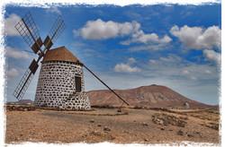 Los molinos de Fuerteventura
