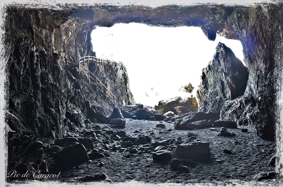 Inside the Ajuy Caves, Fuerteventura