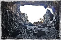 Inside the Ajuy Caves, Fuerteventura