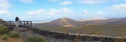View of TINDAYA, the Sacred Mountain