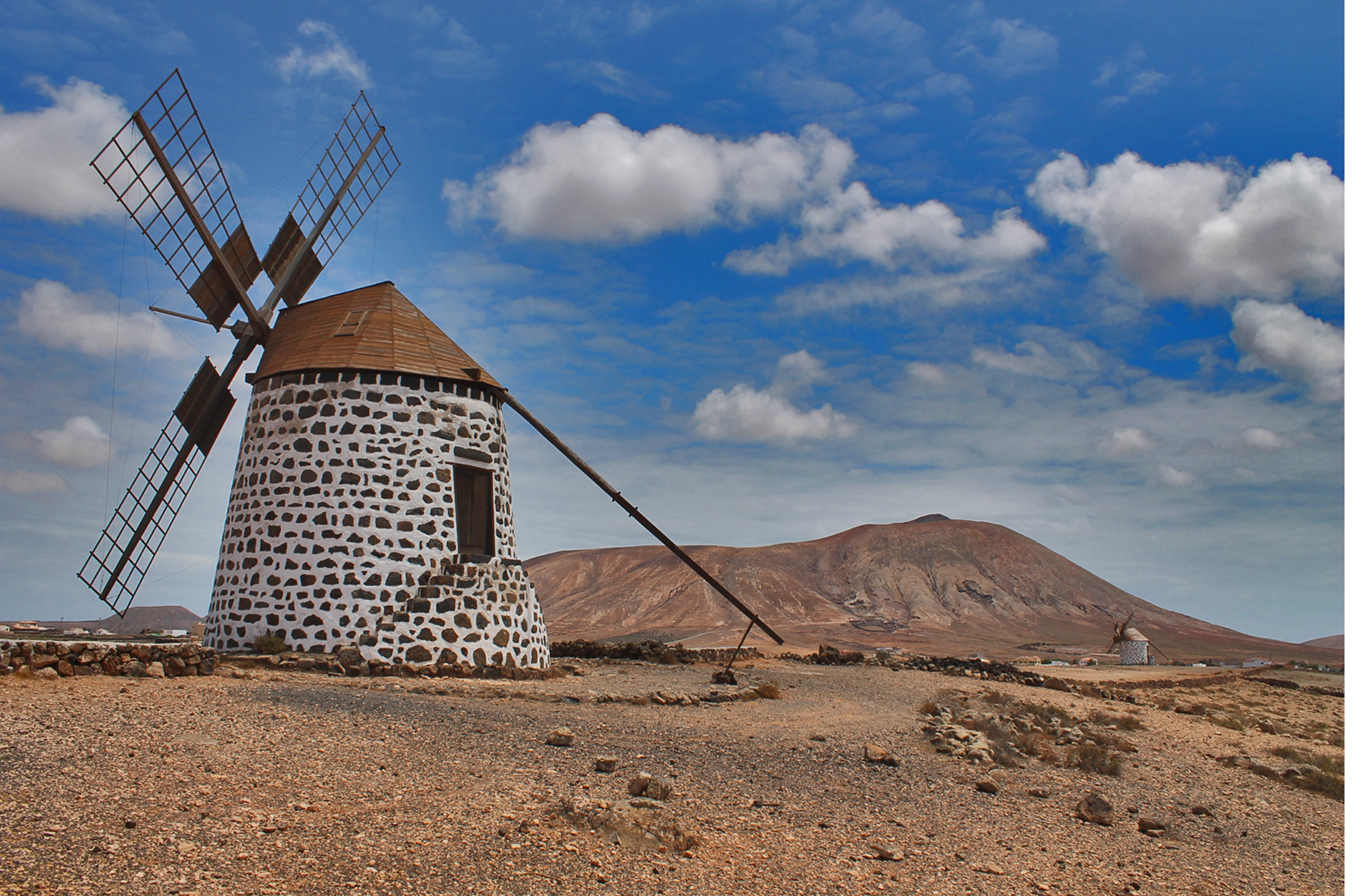 The windmills of LA OLIVA