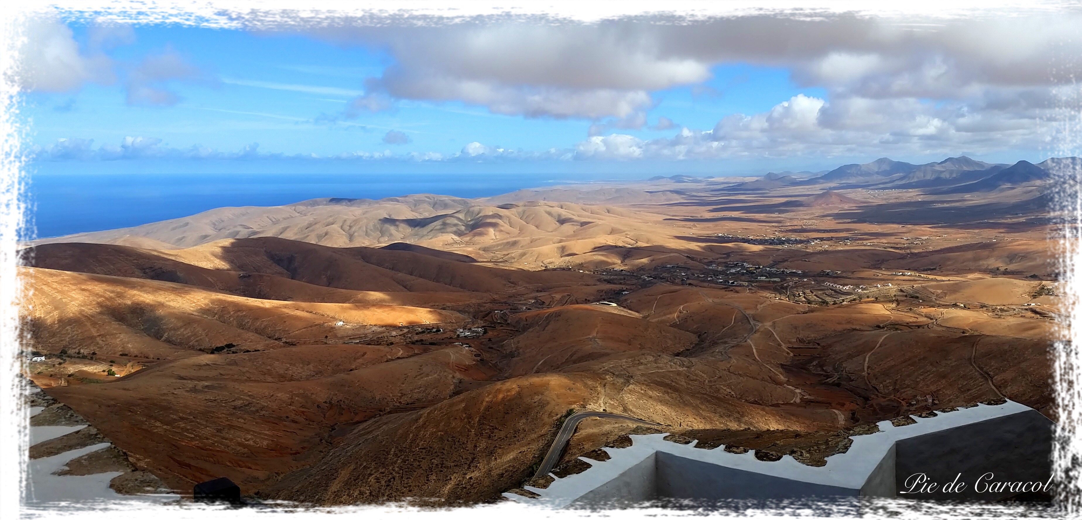 Panoramic Tour with Pie de Caracol, Fuerteventura