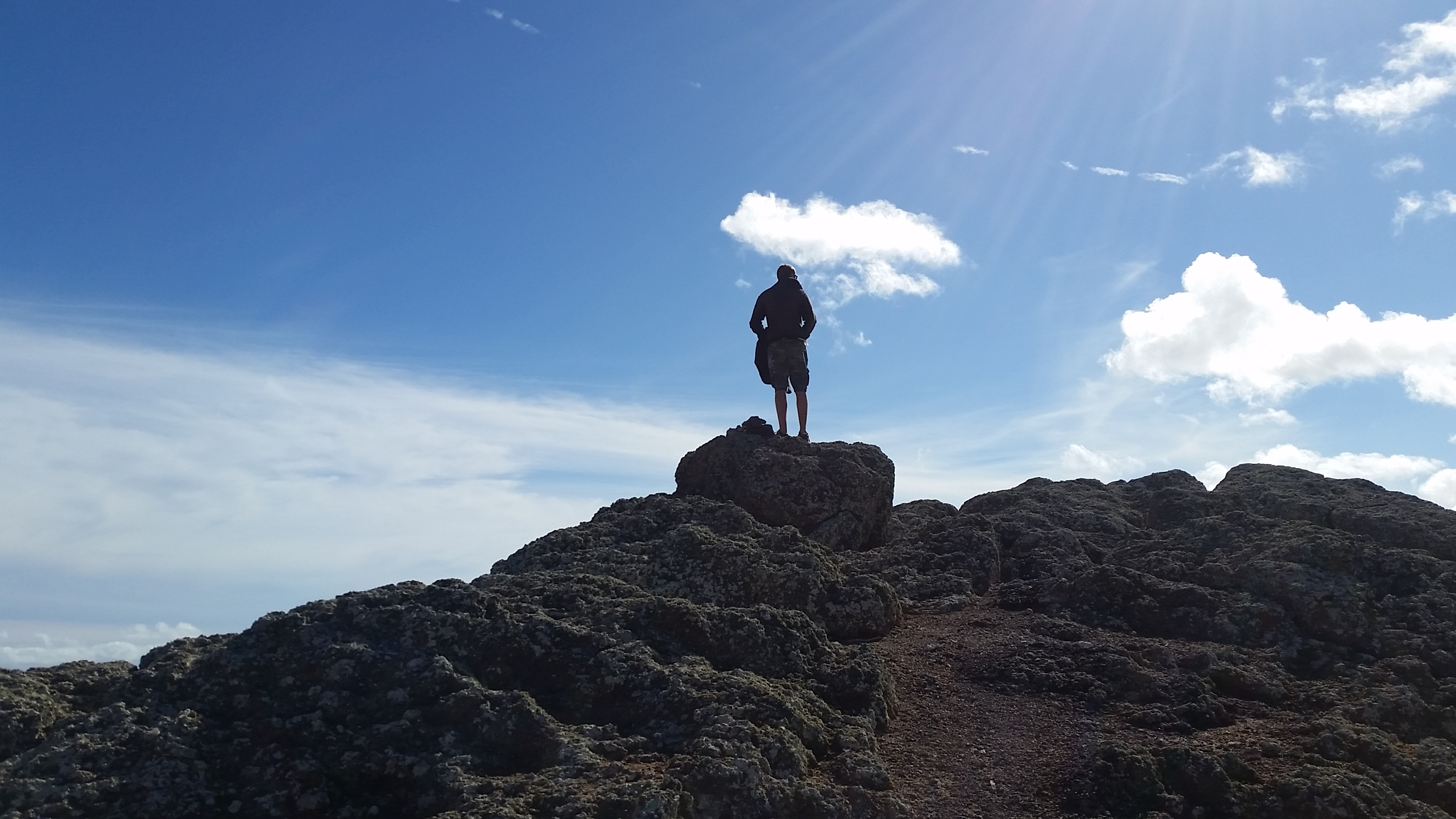 reaching the sky in Fuerteventura, Trekking