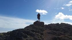 reaching the sky in Fuerteventura, Trekking