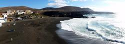 Ajuy, black beach, Fuerteventura