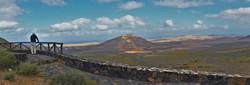 view of THE SACRED MOUNTAIN of Tindaya