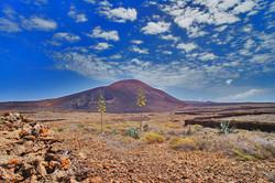EL CALDERON HONDO, the volcano in Lajares