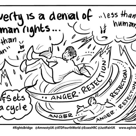 #RightsBridge: Cartoons capture discussion and calls for change