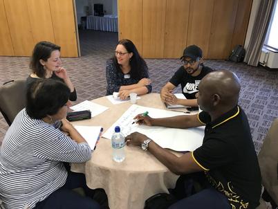 Sanctuary in Politics workshop, August)