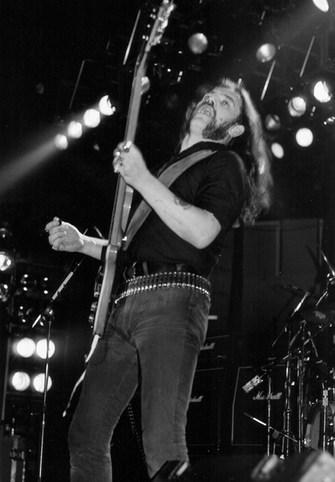 Motorhead, Lemmy 1985