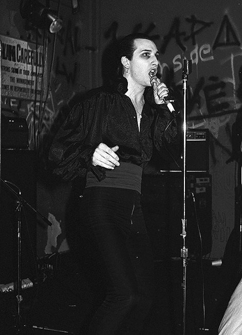 The Damned, Dave Vanian - Photographic Print, 8x10