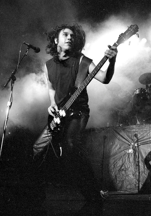 Slayer, Tom Araya -  Photographic Print, Framed to 20x24