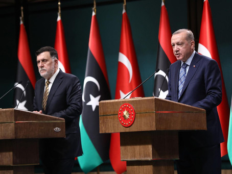 Erdogan e Al-Sarraj rafforzano la cooperazione nel Mediterraneo orientale
