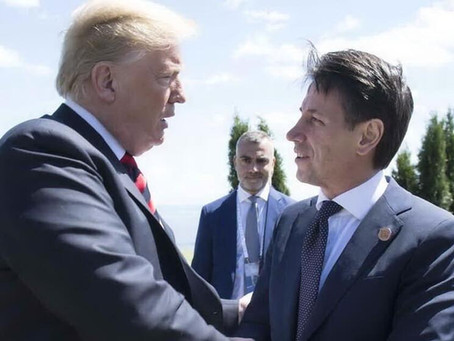 Aiuti Usa all'Italia, tra solidarietà e leadership